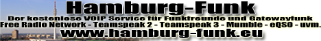 Hamburg-Funk - Gatewayfunkservice - CB-FUNK - PMR - TS2 - TS3 - FRN